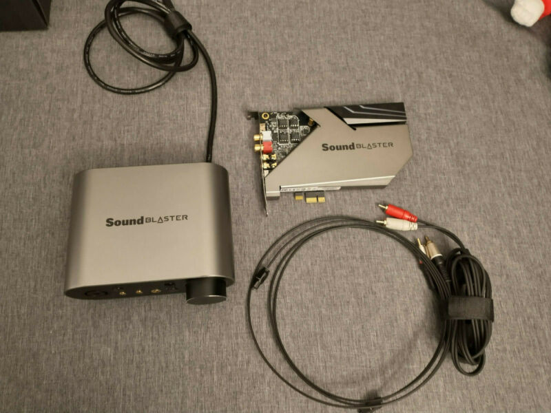 Creative Sound Blaster AE-9 Sound Card - Works Perfect - Same Day Shipping