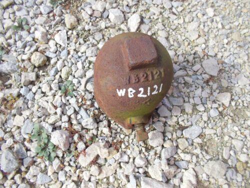 Case plow main cast threaded hub cap cover WB 2121 WB2121