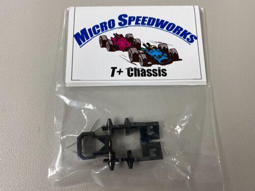 Micro Speedworks T+ Chassis no bulkhead  Viper Tomy SG Plus & BSRT HO Slot car