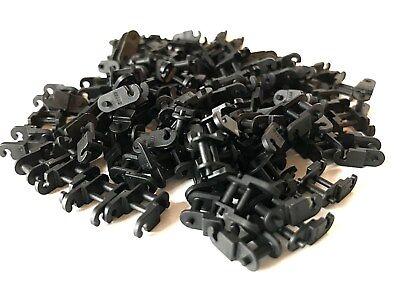 LEGO ®  100 schmale Kettenglieder ( 3711 )  in schwarz , NEUWARE
