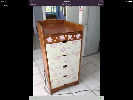 Drawers /changing table