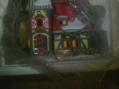 Department 56 North Pole  (THE REINDEER STABLES-DASHER &DANCER)