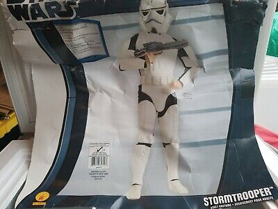 Stormtrooper Costume Sale (STORM TROOPER STAR WARS Halloween Costume Rubies Sz STD  50 % off.   final)