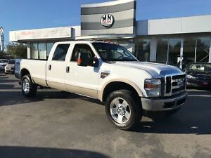2008 Ford F-350 Lariat 4WD DIESEL REAR DVD TUNED DELETED STUDDED