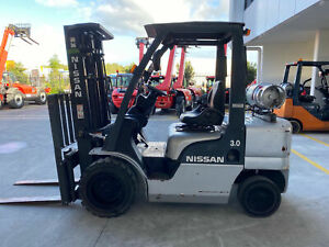 NISSAN 3.0 CONTAINER MAST FORKLIFT Luscombe Gold Coast North Preview