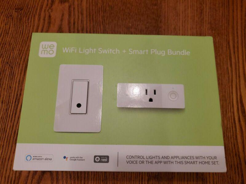 WeMo Wi-Fi Light Switch + Smart Plug Bundle