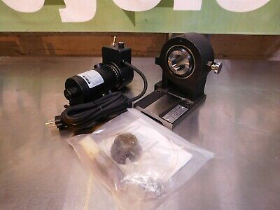Harig 5c Compatible Motorized Horizontal Spin Collet Indexer 120-100