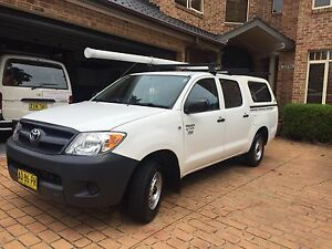 2007 dual cab hilux workmate Epping Ryde Area Preview