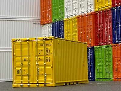 1/64 DCP YELLOW 20' SHIPPING CONTAINER UNIT