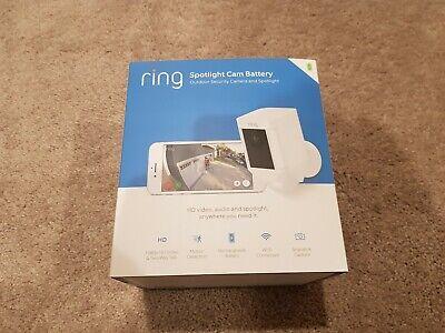 NEW Ring Spotlight Cam 1080p Outdoor WiFi Camera Night Vision Battery