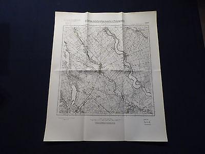 Landkarte Meßtischblatt 2665 Freudenfier / Szwecja in Westpreußen, von 1934