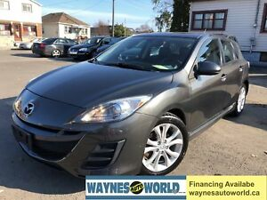 2011 Mazda Mazda3 GT **LOADED WITH LEATHER & SUNROOF**