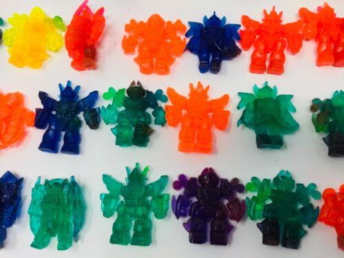 Gundam Toys Lot of 100 Gumball Charms Transformers Mado King Granzort