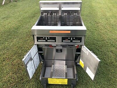 Frymaster Footprint Fryer Model Fph217csd 480 V 3 Ph Filtration Xtra Clean