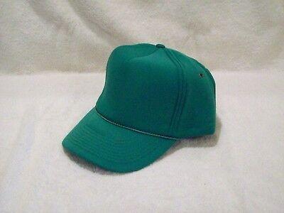 - NEW KELLY GREEN POLYESTER ALL FOAM WINTER HAT 3 3/4