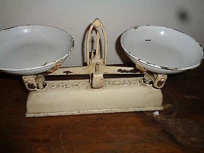 Sehr schöne alte 5 Kilo Waage aus einer Bäckerei 1920er Jahre DRGM