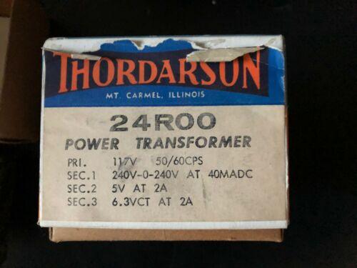 THORDARSON POWER TRANSFORMER 24R00
