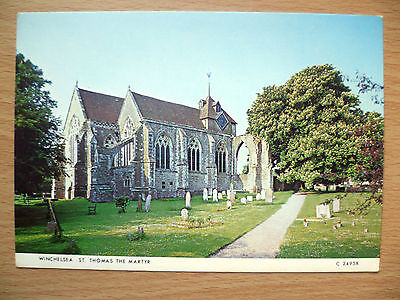 Postcard: WINCHELSEA ST. THOMAS THE MARTYR, Sussex