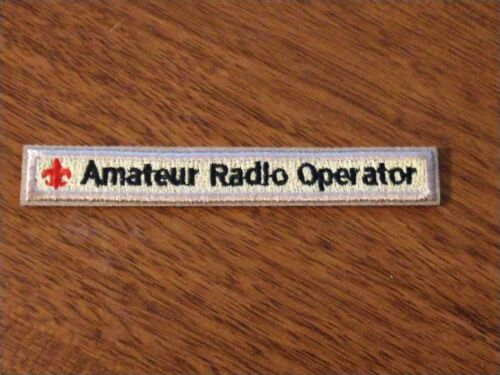 BSA Amateur Radio Operator Patch/Strip -- Many are available