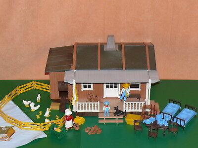 Playmobil 3769 Farmhaus TOP mit BA nicht ganz vollständig Western Cowboy