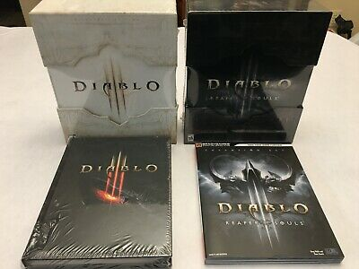 Diablo 3 Collector's Edition and Collector's Edition Reaper of Souls (PC,