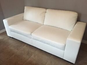 Immaculate Bonded Leather Sofa