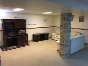 Furnished Large One Bedroom Basement Suite East Kildonan $850