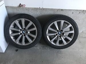 4 BMW original mags and tires