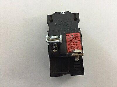 Pushmatic P115 15 Amp 240 Volt Push Button Breaker