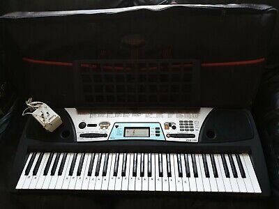 Yamaha PSR-170 Keyboard with power adaptor, carry bag, stand.