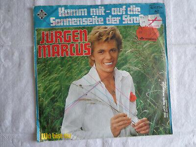 97- Komm mit - auf die Sonnenseite der Straße -  Jürgen Marcus - Single (Marcus Seite)