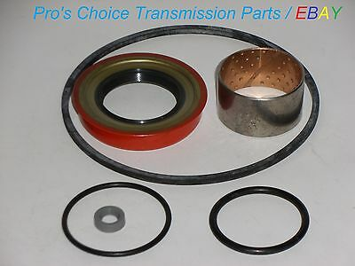 Tail Housing Reseal Kit with Bushing   Fits All 700 R4 4L60 MD8 Transmissions