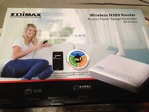 Edimax wireless N300 Router Scullin Belconnen Area Preview