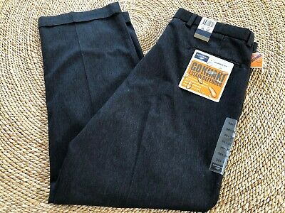 Dockers Go Khaki Dress Pants Pleated Cuffed Classic Fit Stain Defender 36x30 NWT Cuffed Dress Pants