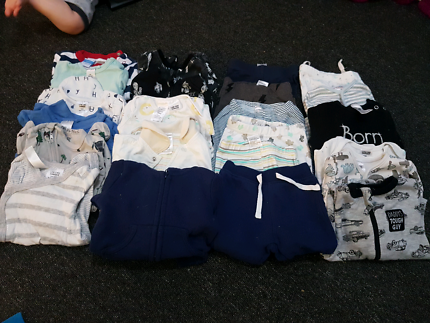 NEWBORN boys winter clothes