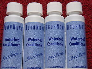 Waterbed Conditioner - 4 Bottles of 125ml Premium Conditioner