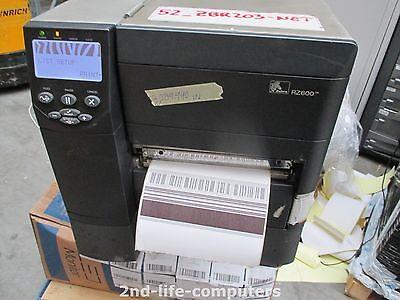 Zebra RZ600 RZ600-200E-010R1 Label RFID Printer USB NETWORK ZM600 3,289,990 INCH