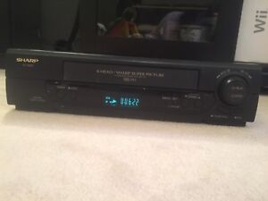 Sharp HQ VCR - tested