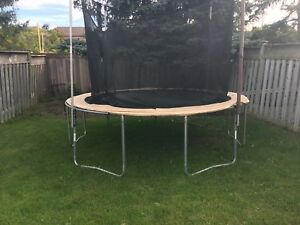 Trampoline in GOOD condition for sale