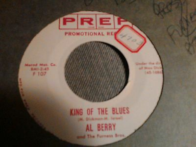 "Al Berry & Furness Bros king of the Blues   northern soul 7"" 45 rpm"