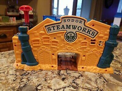 Thomas The Train Sodor Steamworks Station Gullane