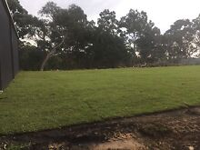 Landscaping / Turf laying / Land levelling Kellyville The Hills District Preview