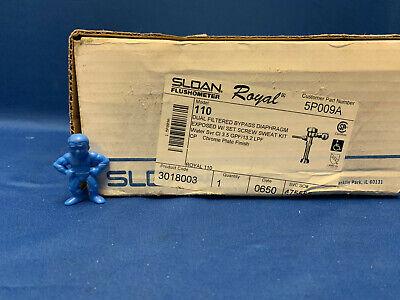 Sloan Flushometer Royal 3018003 Model: 110 Manual Flush Valve, Toilet, 3.5Gpf Royal Model Flushometer