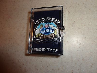 (SUPER BOWL 45 XLV NFL EXPERIENCE PIN PACKERS STEELERS Limited 250 RARE)