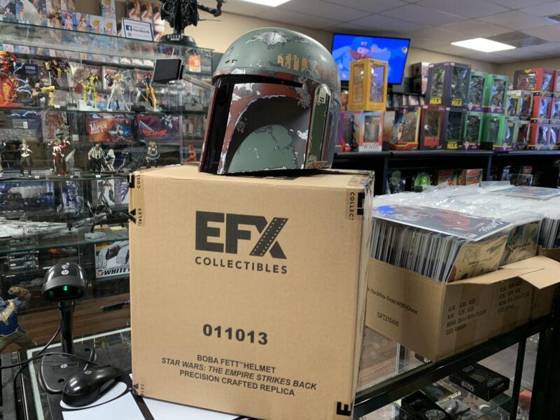 EFX Collectibles Star Wars Boba Fett Prop Replica Helmet