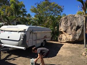 Coromal Silhouette 421 camper Burleigh Waters Gold Coast South Preview