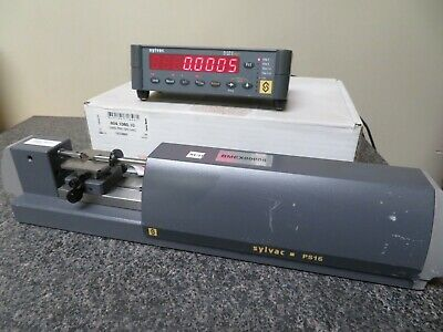 Sylvac Ps16-50 Bench-top Measuring Machine W Sylvac D50s Readout Nu33