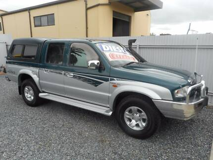 2003 Mazda B2500 Ute 4x4 diesel turbo dual cab utility Hampstead Gardens Port Adelaide Area Preview