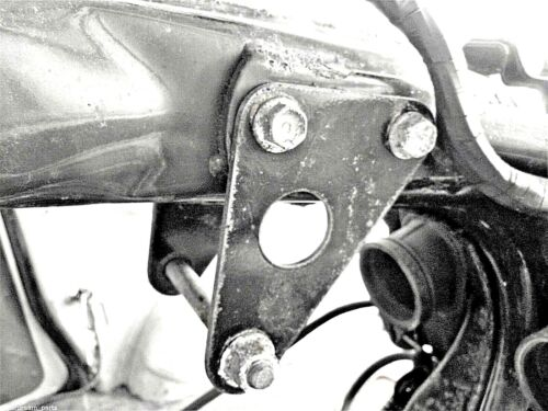 HONDA SUPERDREAM CB250N CB400N - ORIGINAL TOP ENGINE MOUNTING BRACKET & BOLTS