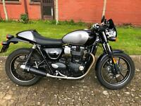 Triumph Street Cup by Fast Lane Motorcycles, Tonbridge, Kent